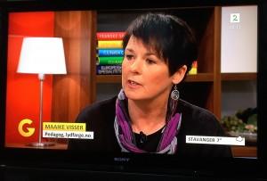 Maaike på Tv2