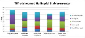 Tilfredshet med Hallingdal Etablerersenter